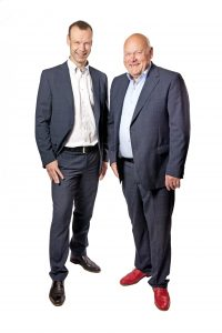 Albert en Rolf Meertens
